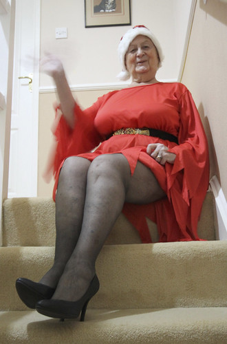 Frocks on the stairs 82-2.