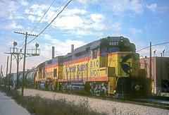 B&O GP30 6907 (Chuck Zeiler) Tags: bo gp30 6907 railroad emd locomotive chicago train chz chuckzeiler