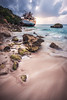 Anguilla - Paradise Lost II (030mm-photography) Tags: rot anguilla sandybaygrounds strand karibik caribbean westindies britisch british schiffswrack shipwreck sunset sonnenuntergang landscape natur landschaft nature felsen brandung