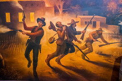 Turbulent Lincoln History (Serendigity) Tags: lincoln wildwest art museum usa painting unitedstates historic town newmexico