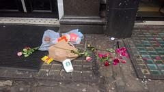 London 14 January 2017 046 (paul_appleyard) Tags: flowers discarded pavement london january 2017 lumia 950 roses flower rose rubbish trash
