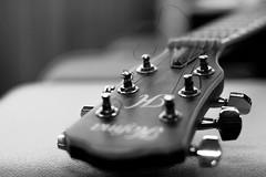 Studio (unuospp) Tags: ifttt 500px no person technology monochrome guitar indoors sound focus studio blur equipment electronics music bokeh string black white