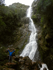 Montezuma (LeelooDallas) Tags: australia tasmania montezuma falls waterfall steve woods tree forest landscape dana iwachow nikon coolpix s9100