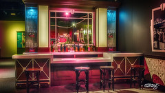 Speakeasy #1 (dougkuony) Tags: durham durhammuseum bar speakeasy prohibition exhibit hdr