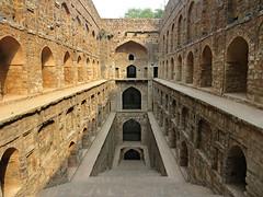 Delhi - Agrasen Ki Baoli (Step Well) (Mary Faith.) Tags: india agrasen ki baoli stepwell step well delhi history tourist brick water red stone temple