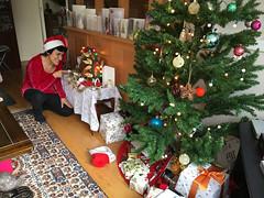 Christmas! (jovike) Tags: christmas espe home london tree woman