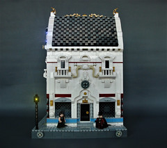 Department of science (adde51) Tags: adde51 lego moc steampunk building house modular moduverse swebrick cb department science scifi