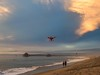 Her Glory (PhotonLab) Tags: huntington beach shot from autel robotics drone pch flyover aerialphotography dronephotography auteldrone autelrobotics quadcopter flight hb socal california cali sunset pacificcoasthighway pink sky clouds landscape ocean outdoor cloud shore coast