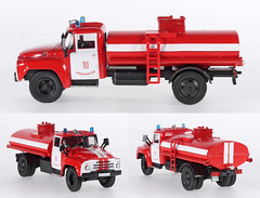 PWP-Fire-133 (adrianz toyz) Tags: del prado fire series diecast toy model scale ussr cccp zil 130 tanker russia mongolia 157