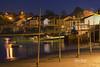 Pueblo de Redes, Ares ( GALICIA SPAIN ) (Elena Bouza Pena) Tags: noche agua puerto redes galicia spain elenabouza nikon barcos pueblo luces