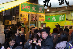 Tamago king (Dominic Sagar) Tags: 2016 fujifilm japan t050 t100 t200 tsujiki xt1 chef egg fish fresh market tamago chūōku tōkyōto jp