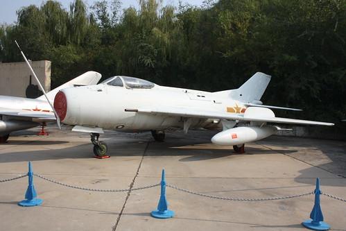 China unmarked Shenyang J-6III Farmer (MiG-19), China Aviation Museum, Chinese, Xiaotangshan 30th October 2016