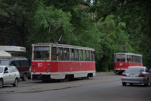 Irkutsk tram 71-605 167 ©  trolleway