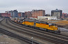 """Northbound Transfer in Kansas City, MO (""""Righteous"""" Grant G.) Tags: up union pacific railroad railway locomotive train trains north northbound transfer freight emd power kansas city missouri"""