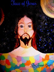 """Face of Jesus (""""God Through Anne Terri With The Holy Spirit) Tags: god jesus miracles"""