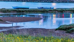 Rabat Bouregreg - Morocco (Bouhsina Photography) Tags: barque bleu bouregreg rabat maroc marina 2016 couleur bouhsina bouhsinaphotography canon 5diii ef70200 oued rivière embauchure reflection reflets lumières