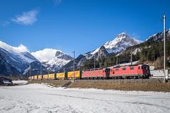 SBB Cargo: Re 420 342 + Re 620 081 (Pascal Hartmann Photography) Tags: kandersteg bern schweiz ch re1010 sbbcargo nothegger