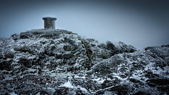 Bleak Beacon - Explore 140317 (cliveg004) Tags: malvern worcesterhirebeacon worcesterbeacon malvernhills winter snow ice frost wind bleak cold rocks worcestershire nikon d5200 1685mm