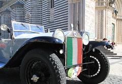 Lancia Lambda a Orvieto (porrounum) Tags: auto car duomo lancia lambda orvieto raduno autoraduno lancialambda