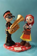 fofuchas de zamora (moni.moloni) Tags: banda pareja musica tuba traje regional zamora foamy danzas coros folclore fofucho gomaeva fofucha fofuchos fofuchas