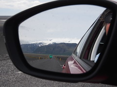 What am i seeing in The mirror? Vatnajøkull offcourse!