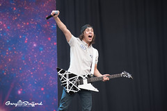 Pierce the Veil performs on Day 3 Leeds Festival 2015 (garystafford.co.uk) Tags: show uk summer field festival concert live gig leeds westyorkshire performances 2015