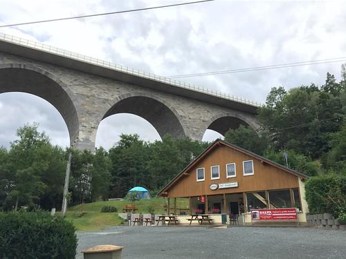 A72 Talbrücke Elstertalbrücke bei Pirk  Juli 2015_090