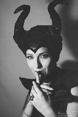 Maleficent (Grazia Mele) Tags: portrait green halloween sardinia darkness transformation cosplay disney villain maleficent nuoro graziamele