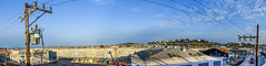 united rentals warehouse panorama (pbo31) Tags: sanfrancisco california blue summer panorama color northerncalifornia nikon industrial view rooftops over large panoramic september powerlines bayarea bernalheights stitched 2015 boury pbo31 silverterrace d810 unitedrentals