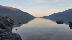 Cycling trip to Mull. Travel through Loch Lomond and Glen Coe (Bruce Stokes) Tags: sunset reflection scotland loch lochlomond coastofuk