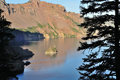 Phantom Ship (J-Fish) Tags: lake reflection oregon nationalpark caldera craterlake phantomship craterlakenationalpark d300s 1685mmf3556gvr 1685mmvr