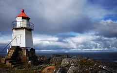 kabelvag 5 (Bilderschreiber) Tags: red norway clouds islands coast norge rainbow norwegen wolken lofoten leuchtturm kste ligthouse kabelvag