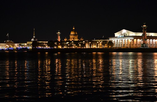ночная прогулка, Питер  night walk, St.Petersburg ©  Olga Sytykh