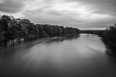 That river is getting higher (DavidRHScott) Tags: uk longexposure bridge england water river lancashire preston avenhampark riverribble nd110 leefilters 10stopper