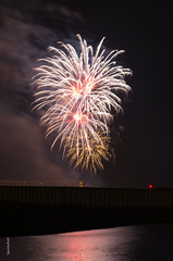 Queen Mary 2 Fireworks (spookyrod) Tags: cruise 2 river ship pentax fireworks harbour mary hamburg queen elbe