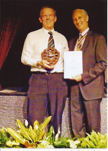 2010 Best Commercial Premise Award to the Travel Interchange by the Mayor, Barry Goldbartby Rad Howard