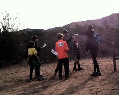 021 A Point Of Decision (saschmitz_earthlink_net) Tags: california sign trail orienteering pacificcresttrail participant aguadulce vasquezrocks losangelescounty 2015 laoc losangelesorienteeringclub
