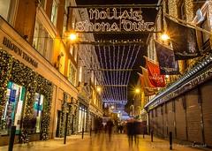 it's beginning to look alot like Christmas (Anna-Louise H) Tags: christmas street ireland dublin night lights grafton shona nollaig duit