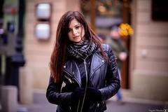 Portrait (Vagelis Pikoulas) Tags: pest budapest hungary girl woman model portrait travel photo photography november 2016 autumn canon 6d tamron 70200mm vc f28 bokeh city europe