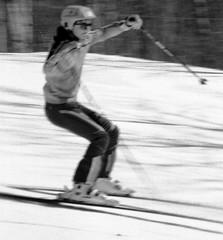 Monochrome Ski School Slalom (wordman760) Tags: minolta x370 kodak monochrome negative film tmy 3200asa skiing sugarpeak ski snow sport snoweagleskischool saintjovite slalom slr race racing outdoors blackandwhite csia daylight downhill downhillskiing extérieur grayrocks gate skipro skiinstructor laurentians laurentides monttremblant noiretblanc polarizer québec canada winter 35mm