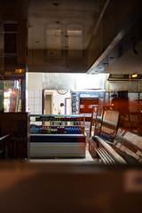 the baker (daniel.markow) Tags: baker streetphotography hanover hannover linden lower saxony niedersachsen germany nikon d750 vintage lens 50mm f18 pancake altes objektiv relfection confusion progressive night nacht abend dunkel dark