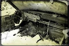 161123-06 Ford Galaxie (clamato39) Tags: carwreck carcemetery cargraveyard cimetièredautos couràscrap auto car oldcars old ancient noiretblanc blackandwhite