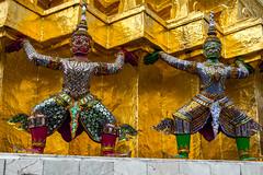 2016_04-Bangkok-M00083 (trailbeyond) Tags: architecture asia bangkok building gold location outdoors pattern religiousbuilding statue temple templeoftheemeraldbuddha texture thailand thegrandpalace watphrakaew