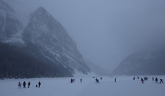 Lake Louise winter day (Jeff Goddard 32) Tags: canada canadianrockies banffnationalpark alberta winter december