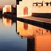Las puertas (Herminio.) Tags: menara marrakech marocco marruecos estanque agua water reflejo mirror reflex