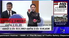 ผลสลากกินแบ่งรัฐบาล ตรวจหวย 17 มกราคม 2560 Lotterythai HD - YouTube