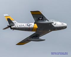 Zoom on the F-86 (AvgeekJoe) Tags: d5300 dslr f86 f86sabre f86f f86fsabre fu834 jolleyroger nx186am nikon nikond5300 northamericanaviation northamericanf86fsabre northamericansabre notheramericanf86 planesoffame stevehinton warbirds aircraft airplane aviation jet militaryjet plane warbird