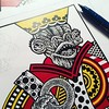 Better royalty (Don Moyer) Tags: kickstarter playingcard king drawing moyer donmoyer brushpen creature royalty