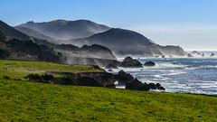 Heading South into Big Sur Under Winter Skies (runcolt12) Tags: bigsur california winter pch pacificocean pacificcoasthighway seafog pebblebeach sunshine surf nikon d800e