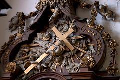 Hondschoote, Nord, Flandres, église Saint-Vaast, altar of 7 sorrows, detail